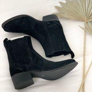 Matisse Black suede boots